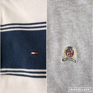 Tommy Hilfiger Lot of 2 Short Sleeve Polo Shirts